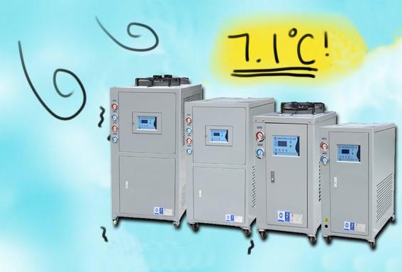 冬季工业冷水机怎样防冻